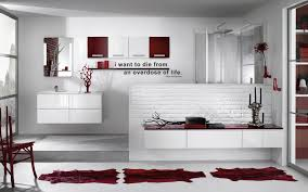 Black And Red Bathroom Ideas Colors With Loft Style Office Building Likewise Red And White Bathroom