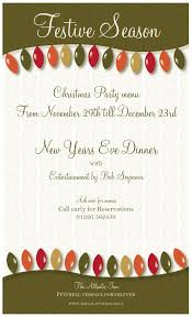 christmas party menu and new year u0027s eve dinner 2015 the atlantic inn