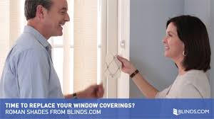 time to replace your window coverings roman shades from blinds