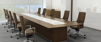 Oak Meeting Table Conference Table Office Cabinets Desk Contemporary Furniture