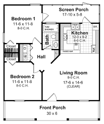 House Plans With Screened Porches Tiny House Plan 800 Sq Ft 2 Bedroom 1 Bathroom Nice Layout