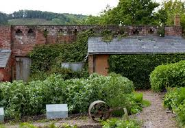 walled gardens an organic and picturesque plot at old lands in