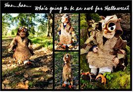 finding my aloha handmade owl costume