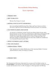 cover letter for personal banker banker resume template