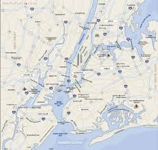 A Map Of New York City by Maps Of New York Top Tourist Attractions Free Printable