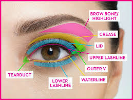 1 know where each type of eye makeup goes