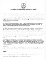 exles of resumes for nurses nursing resumes for new grads resume exles graduates grad