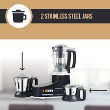 Panasonic Kitchen Appliances India Buy Panasonic Mx Ac350 550 Watt 3 Jar Super Mixer Grinder Online