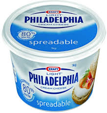 philadelphia light cream cheese spread philadelphia light cream cheese kraft