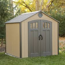 Office In A Shed Lifetime 8 U0027 X 7 5 U0027 Storage Shed