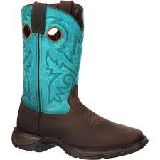 womens size 12 black cowboy boots durango