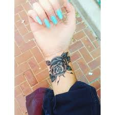 nice grey animal head tattoo on wrist photo 3 2017 real photo