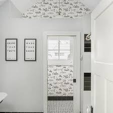 black bathroom baseboards design ideas