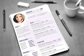 Resume Template Graphic Designer 10 Professional Resume Templates To Help You Land That New Job