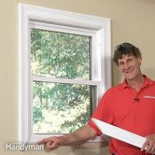 how to install a window exterior trim moldings and window