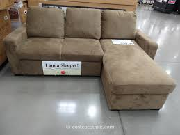 Sleeper Sectional Sofa With Chaise Furniture Comfy Costco For Mesmerizing Living Room