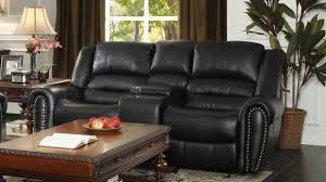 Power Recliner Loveseat With Console Reclining Loveseat With Center Console Youtube