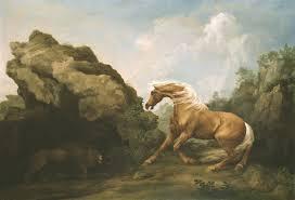 aris sarafianos u0027sublime action george stubbs u0027s lion and horse