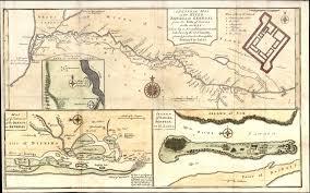 Map St Louis 1760 Bowen D Anville Map Entrance Of River Sanaga St Louis