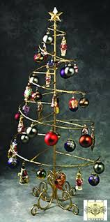 ornament trees spiral wire ornament tree 4 foot ornament