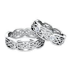 celtic knot wedding bands celtic knot wedding rings sets 2 busess matchg weddg diamd weddg