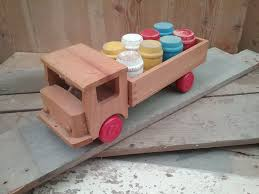 wooden truck toy shop vintage toys for sale little wooden truck trunk vintage
