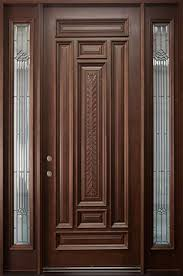 Exterior Wooden Door Wooden Single Front Door Designs For Houses Outside Wood Doors