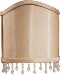 Wall Sconce Half Shades Clip On Ceiling Shades Foter