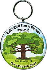 personalized keychain party favors family reunion favors idea personalized key chains with a
