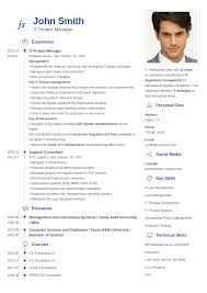 Resume Builder Online Free by Curriculum Vitae Template For Cv Pamela Martin Duarte Best Free