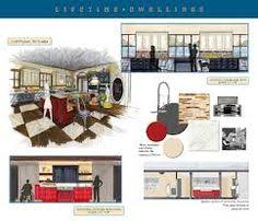 Commercial Interior Design Presentation For A Small Boutique - Interior design presentation board ideas