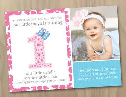 baby girl 1st birthday baby girl 1st birthday photo invitation flowers and