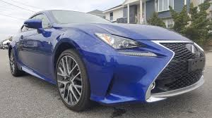 lexus rc 300 awd 2016 2016 lexus rc300 coupe f sport navigation awd rc 300 no reserve