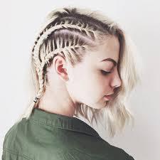 plait hairstyles for short hair 9 braids that look amazing on short hair byrdie uk