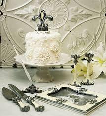 fleur de lis cake topper fleur de lis wedding collection wedding cake toppers wedding