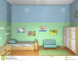 3d design toddlers u0027 room stock illustration image 50417277