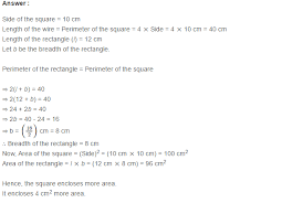 mensuration rs aggarwal class 7 maths solutions exercise 20a