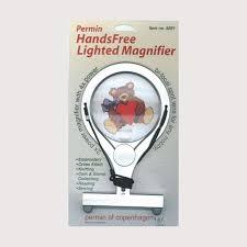 hands free lighted magnifier hands free lighted magnifier permin of copenhagen