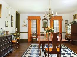 formal dining room window treatments restoring a historic federal house in maryland old house