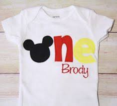 mickey mouse birthday shirt boys 1 year mickey mouse 1st birthday shirt children s