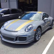 porsche r nardo grey porsche 911 r with matching wheels comes from hawaii
