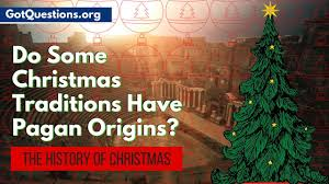 the history of do some traditions pagan
