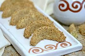 gazelle cuisine 536 almond gazelle horns with sesame seeds كعب الغزال باللوز
