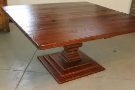inch square oak table with venetian pedestal ecustomfinishes ideas