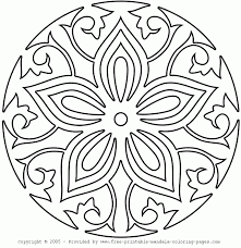 free printable mandala coloring pages free images coloring free