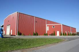 Small Metal Barns Steel Buildings Made In Pennsylvania Prefab Garage Metal Building