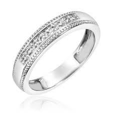 7 8 carat t w trio matching wedding ring set 10k gold