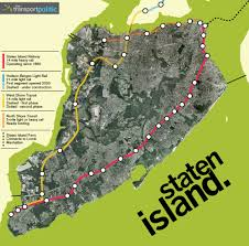Map Staten Island Staten Island U0027s Business Group Sees Light Rail Ahead The