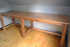 Diy Large Desk Diy Large Desk Do It Your Self Diy