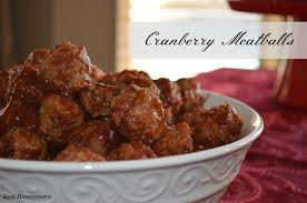 Christmas Appetizers Easy by Cranberry Meatballs